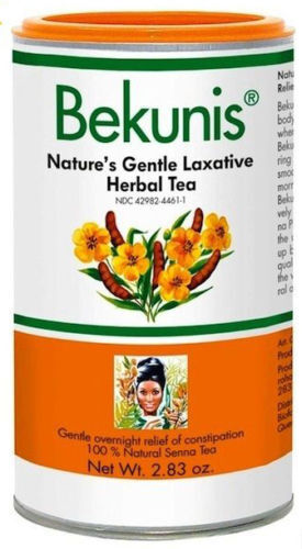 What are laxative teas