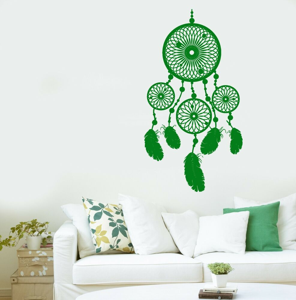 Wall mural dream catcher dreamcatcher amulet cool decor for Cool wall art for bedroom