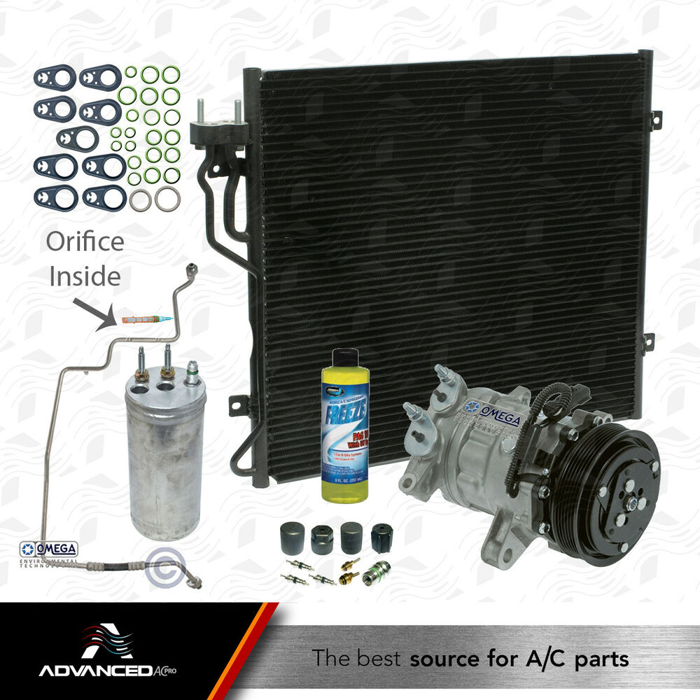 New AC A/C Compressor Kit, Fits: 2002 2003 2004 2005 Jeep