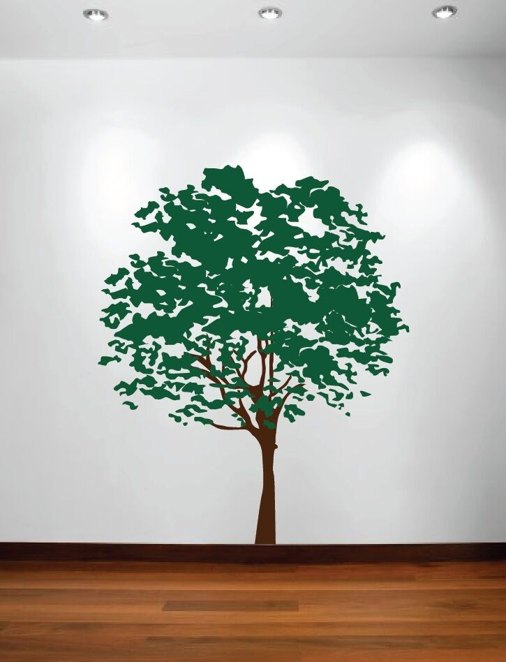 Olive Tree Forest Large Wall Decal Nursery Bedroom Kids