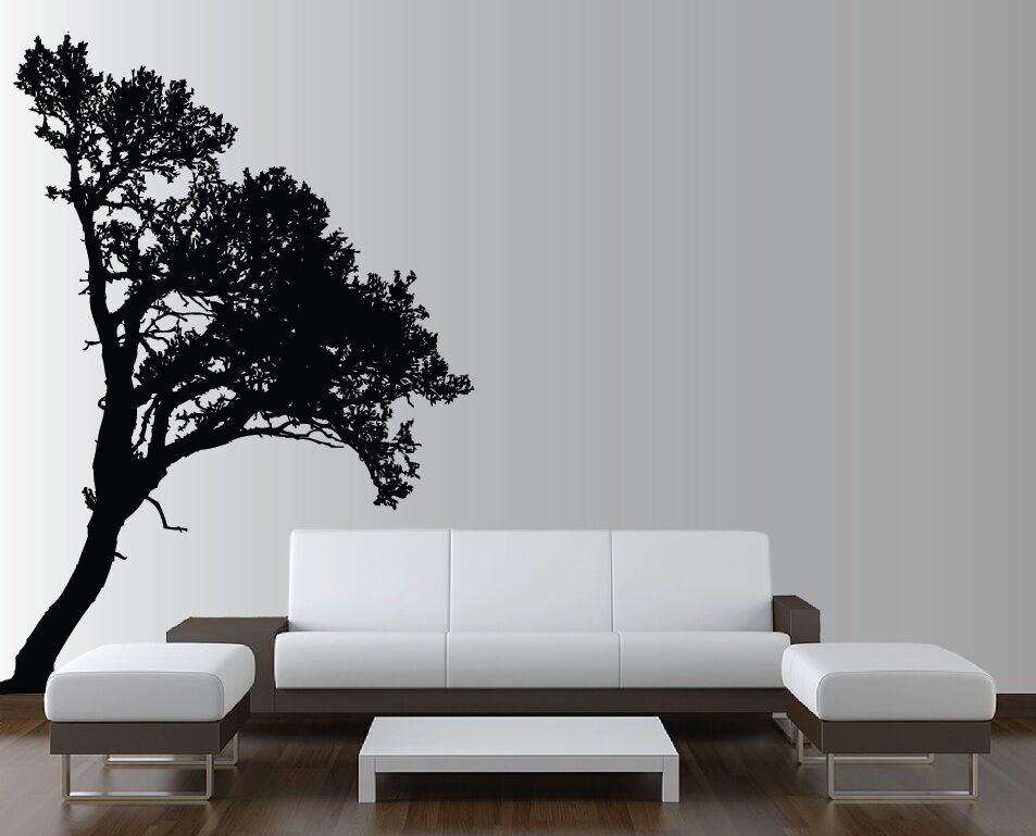 Large Wall Tree Nursery Decal Detailed Wall Art Sticker