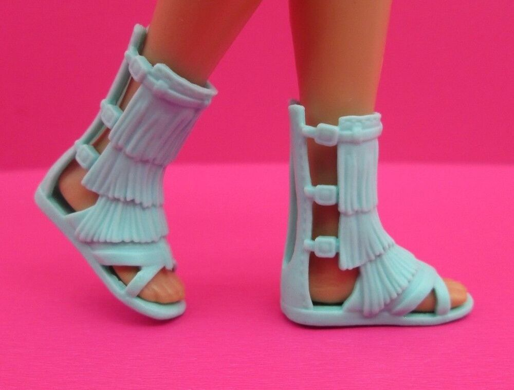 Barbie Shoes Fashionistas Teal Flat Gladiator Sandals Also ...