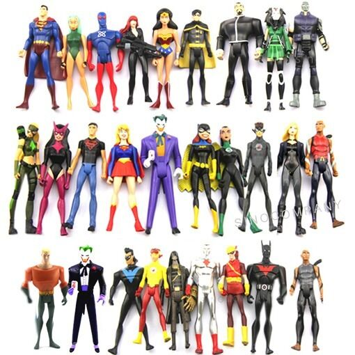 Best Justice League Toys And Action Figures For Kids : Dc comic universe jul super man girl batman joker action