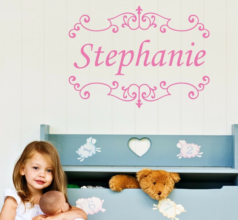 Wall stickers childrens alphabet wall stickers thousands personalized wall decal removable childrens sticker kids baby room amipublicfo Images
