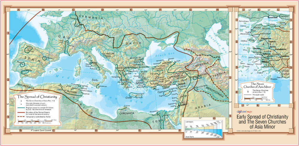 Early Spread of Christianity and The Seven Churches of ...