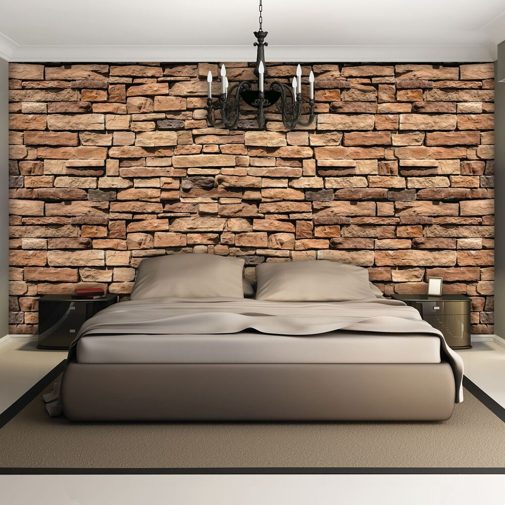 fototapete fototapeten tapeten wandbild poster bild mauer wand stein 3fx1927p8 ebay. Black Bedroom Furniture Sets. Home Design Ideas
