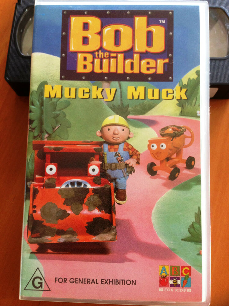 Where Can I Sell My Vhs Tapes >> Bob the Builder - Mucky Muck - ABC FOR KIDS - VHS | eBay