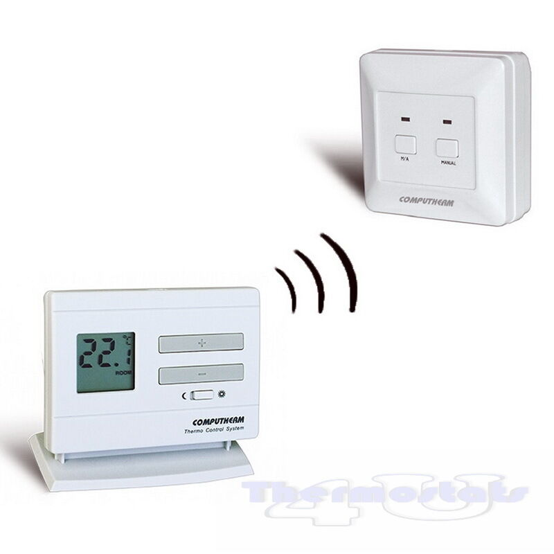 wireless thermostat quality room stat non programmable