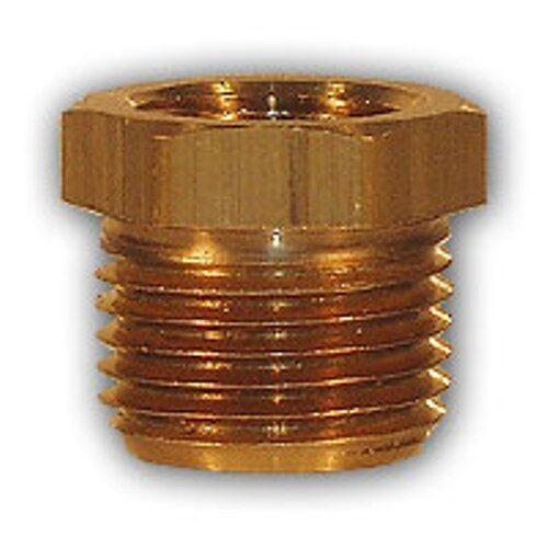 Inch hex bushing adapter brass pipe fitting npt
