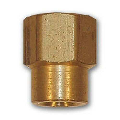 Inch reducing coupling brass pipe fitting npt