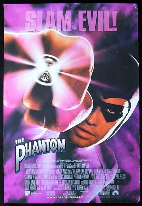 Sell Vhs Tapes >> The Phantom: Slam Evil VHS with halpgraphic cover | eBay