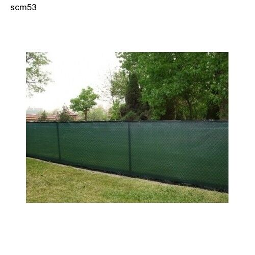 Fence privacy windscreen mesh screen green cover 6 x50 for What s a privacy screen
