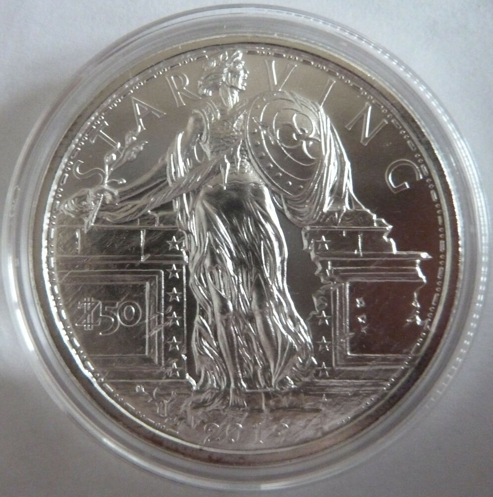 2019 Zombucks Starving Liberty 1 Oz 999 Silver Bullion