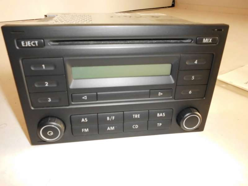 autoradio cd radio radio auto rcd 200 rcd200 vw polo 9n3. Black Bedroom Furniture Sets. Home Design Ideas