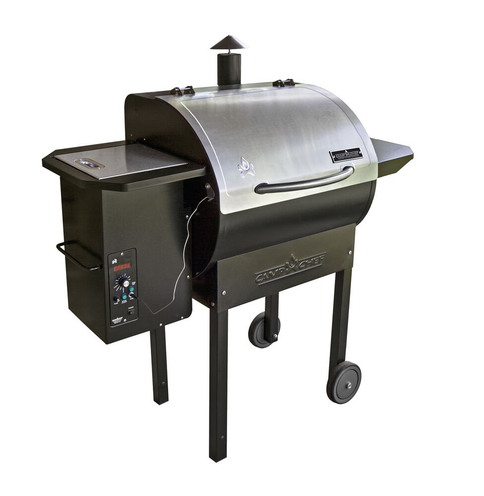 Camp Chef SmokePro Stainless DLX Pellet Grill | eBay