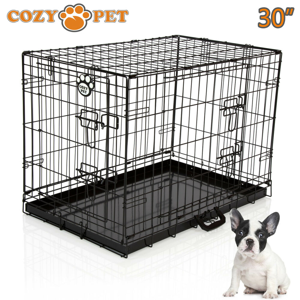 Small Black Dog Crate