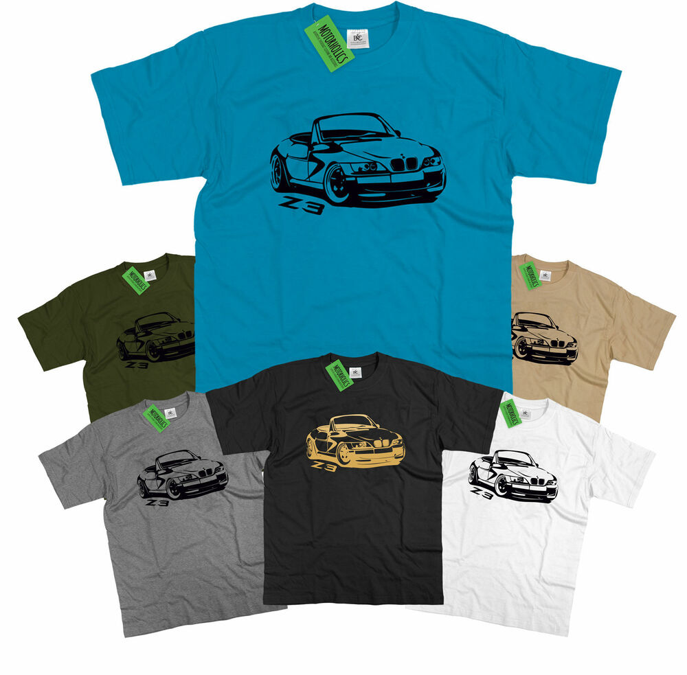 Bmw Z3 M Sport Convertible Mens T Shirt Ebay