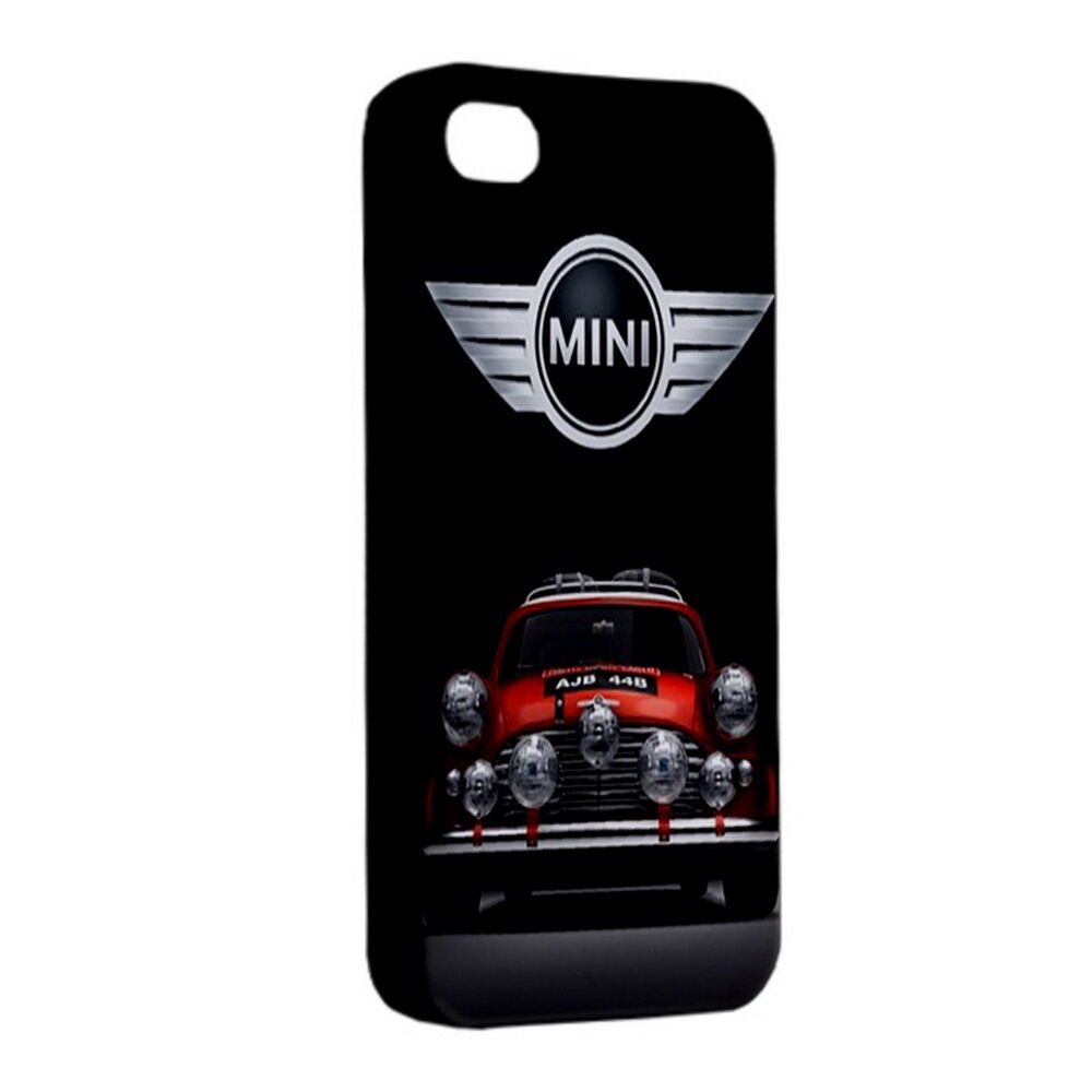 new iphone 4 4s case hardshell plastic cover mini cooper classic retro ebay. Black Bedroom Furniture Sets. Home Design Ideas