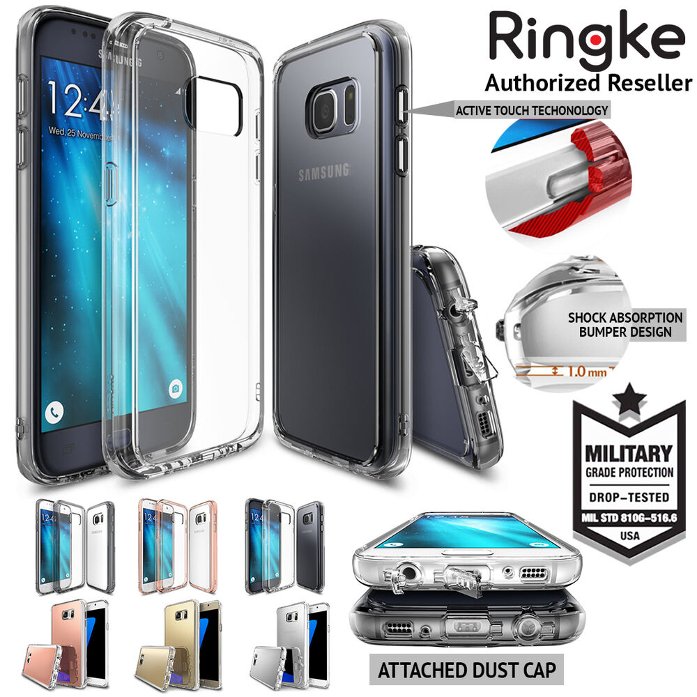 Galaxy S7 Edge Case S6 Plus Genuine Ringke Fusion Cover For Rearth Samsung Crystal View Ebay