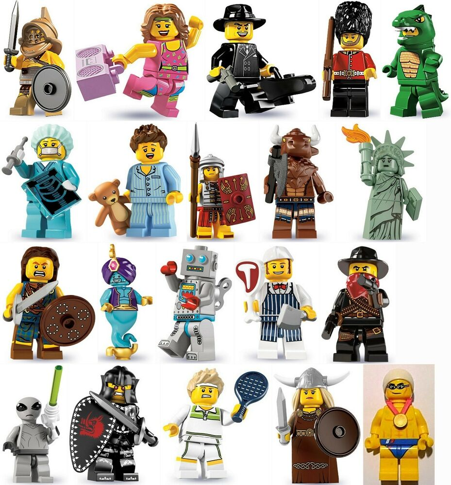 lego minifigures series 3 4 5 6 7 8 14 ebay. Black Bedroom Furniture Sets. Home Design Ideas