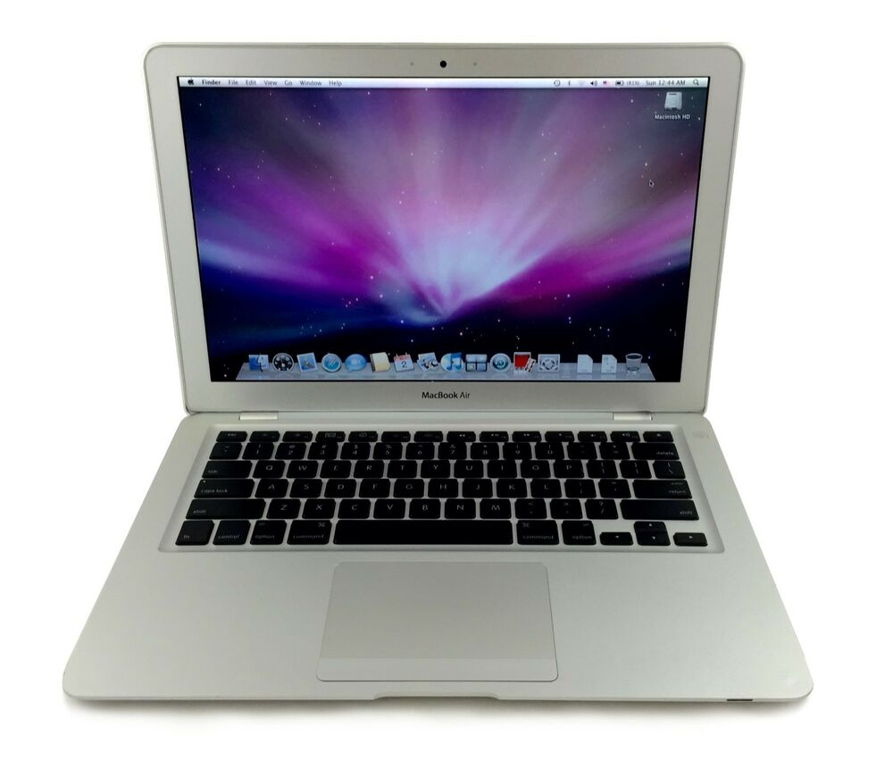 apple macbook air core 2 duo 1 6ghz 2gb ram 80gb hd 13. Black Bedroom Furniture Sets. Home Design Ideas