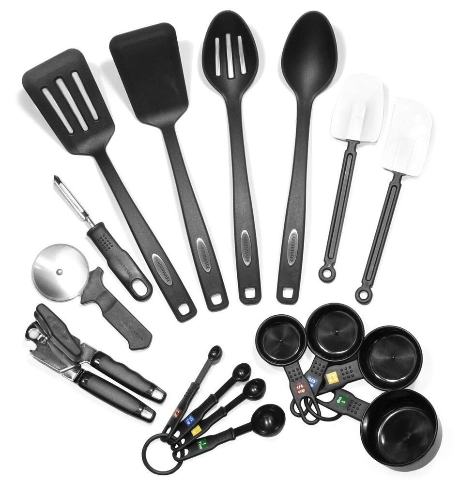 Farberware 17 Piece Classic Kitchen Utensils Baking ...