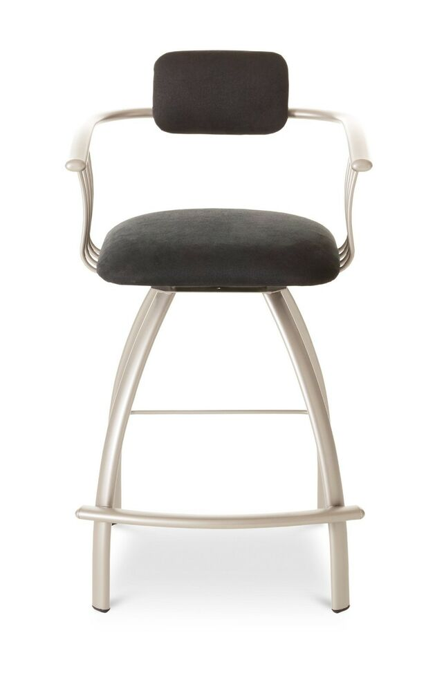 Amisco Kris Swivel Counter Bar Or Spectator Stool With