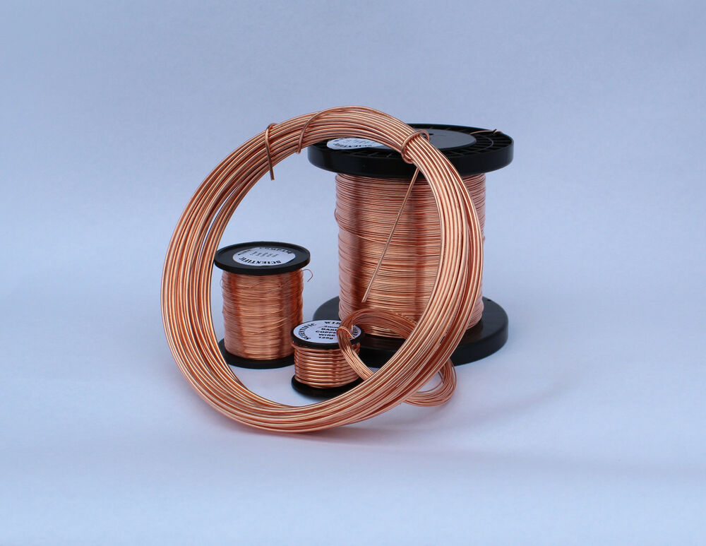 Solid Copper Wire Ampacity : Solid bare copper round wire mm jewelry making