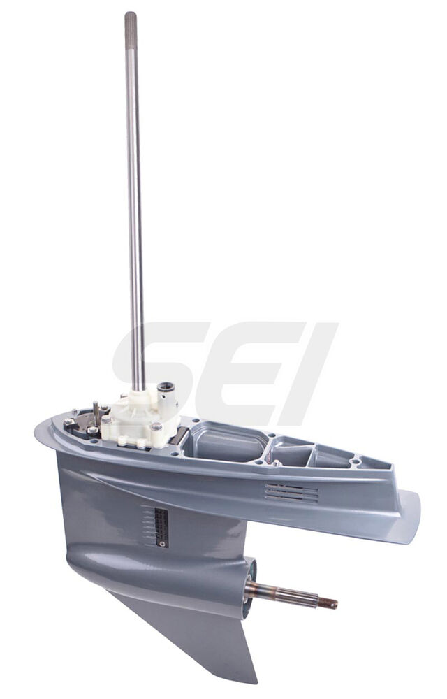 Yamaha outboard complete replacement lower unit 115 130 hp for Yamaha boat motor parts for sale