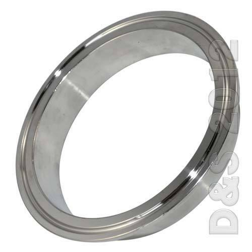 Quot mm od sanitary pipe weld on ferrule tri clamp type
