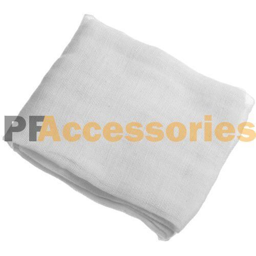 2 Sq Yards Cheesecloth White Gauze Fabric Kitchen Cheese ...