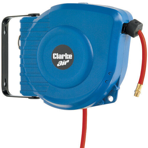 retractable air hose reel clarke car9pc 9m retractable air hose reel 1 4 quot bsp ebay 29036