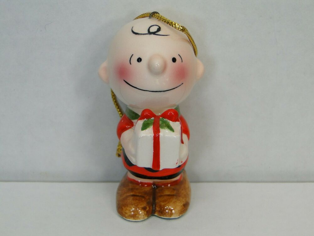 Charlie Brown Ceramic Ornament 1950 United Feature