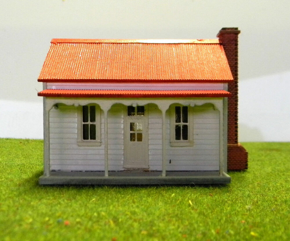 Ho Scale Victorian Miners Cottage Ebay