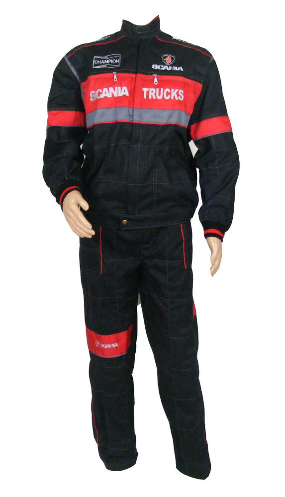 SCANIA Overalls Embroidered Logo on Front and Back size M L XL XXL XXXL   eBay