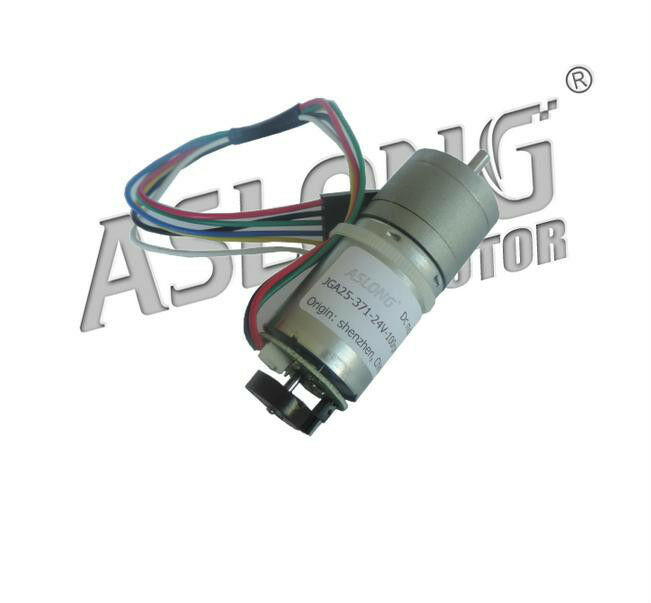 2pcs Lot Dc 6v 24v 8 977rpm Jga25 371 Gear Motor With