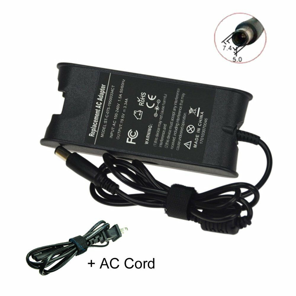 Dell Laptop Power : New w for dell inspiron  ac adapter charger