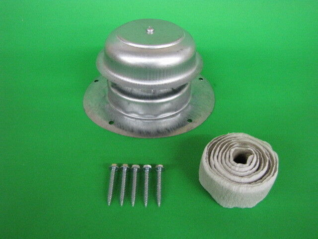 Metal Roof Vent Cap Mobile Home Parts Rv Camper Trailer W