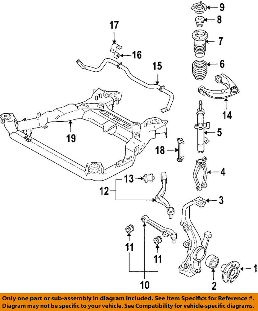 08 Mazda 6 Parts Diagram Wiring Diagrams For Dummies Engine Oem 03 Front Suspension Lower Cntl Arm Left 2005 2008