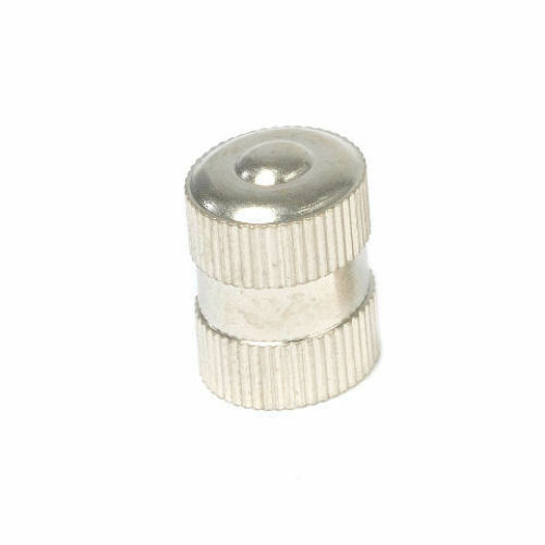 Long metal dome truck tire valve stem cap with seal vc