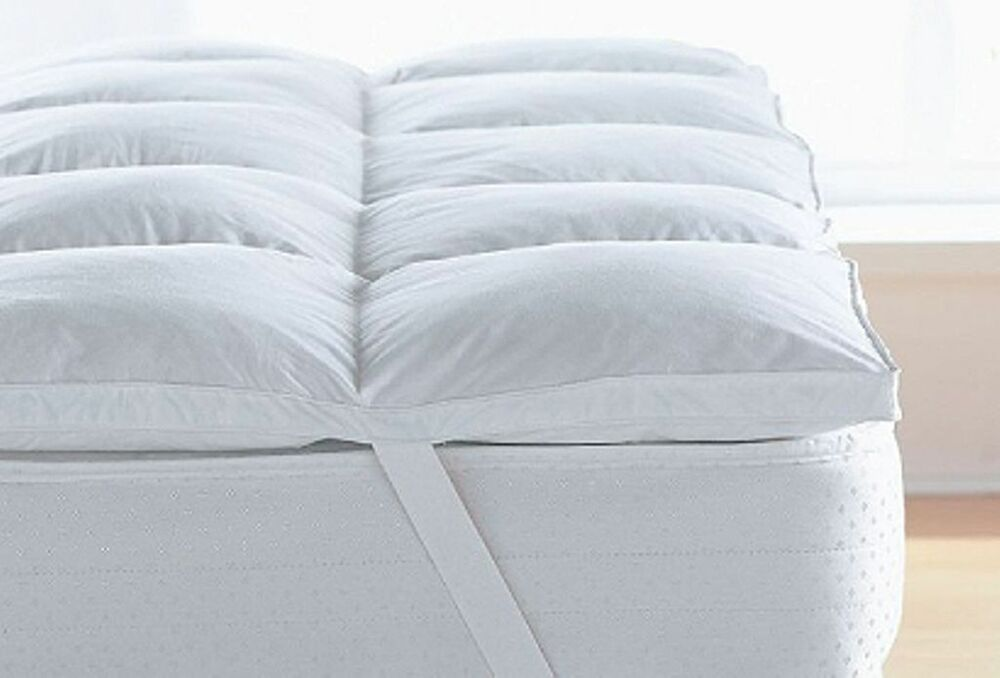 Goose And Down Mattress Toppers Luxury Hotel Quality All