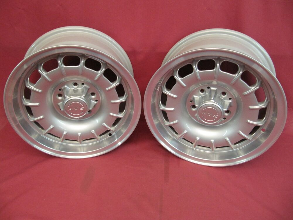 Two 2 restored ats german alloy wheels 15 x 7 kba40396 for Mercedes benz mag wheels