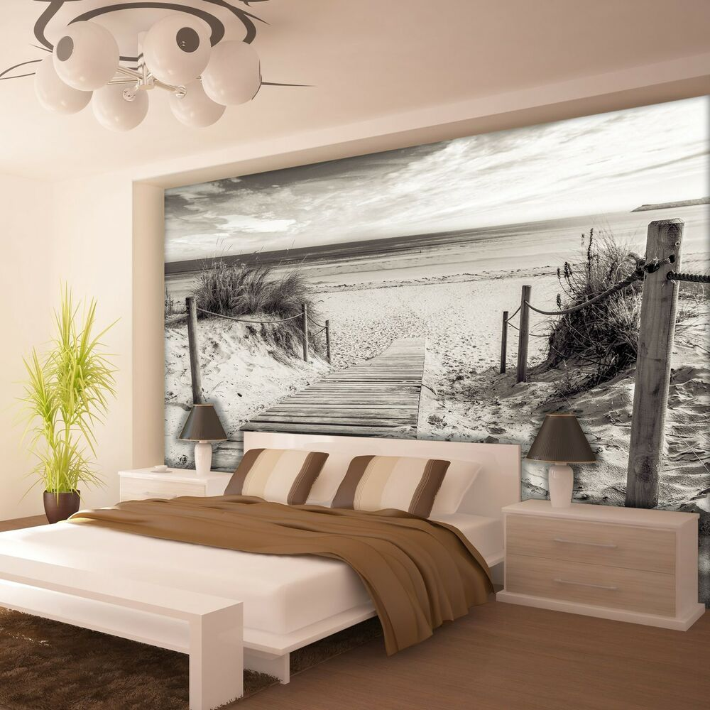 fototapete fototapeten tapeten strand sand meer sommerferien 3fx2024p4 ebay. Black Bedroom Furniture Sets. Home Design Ideas