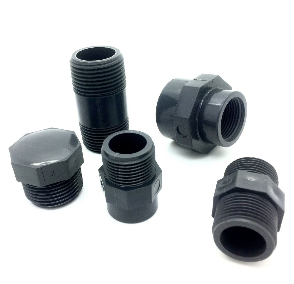 Bsp pvc threaded pipe fittings quot to industrial