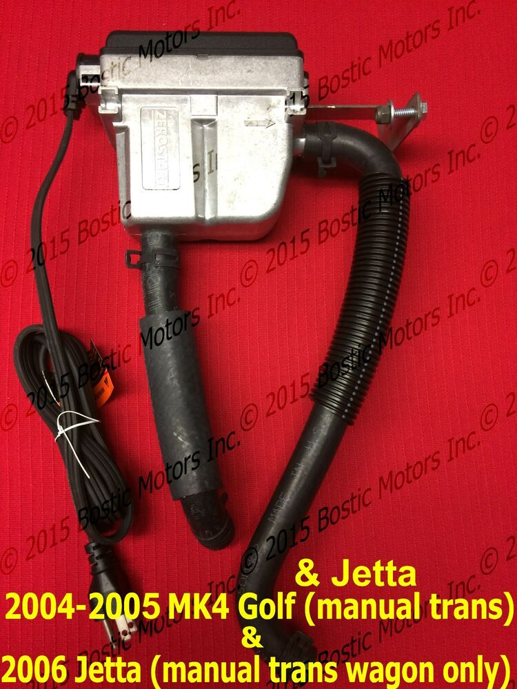 Vw Golf Amp Jetta 1 9 L Tdi Engine Block Heater 2004 05 Amp 06