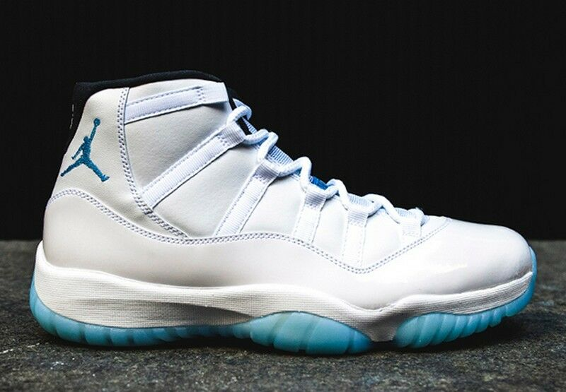 the best attitude 68b26 20cc2 ... Air Jordan 11 XI Retro Legend Blue White Black Columbia 378037-117  gamma concord eBay ...