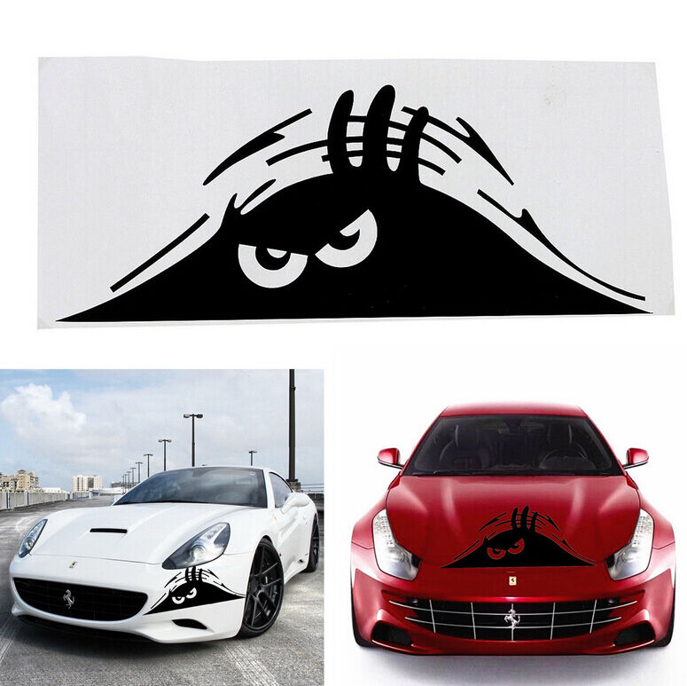 New funny peeking monster auto car walls windows sticker graphic vinyl car decal ebay