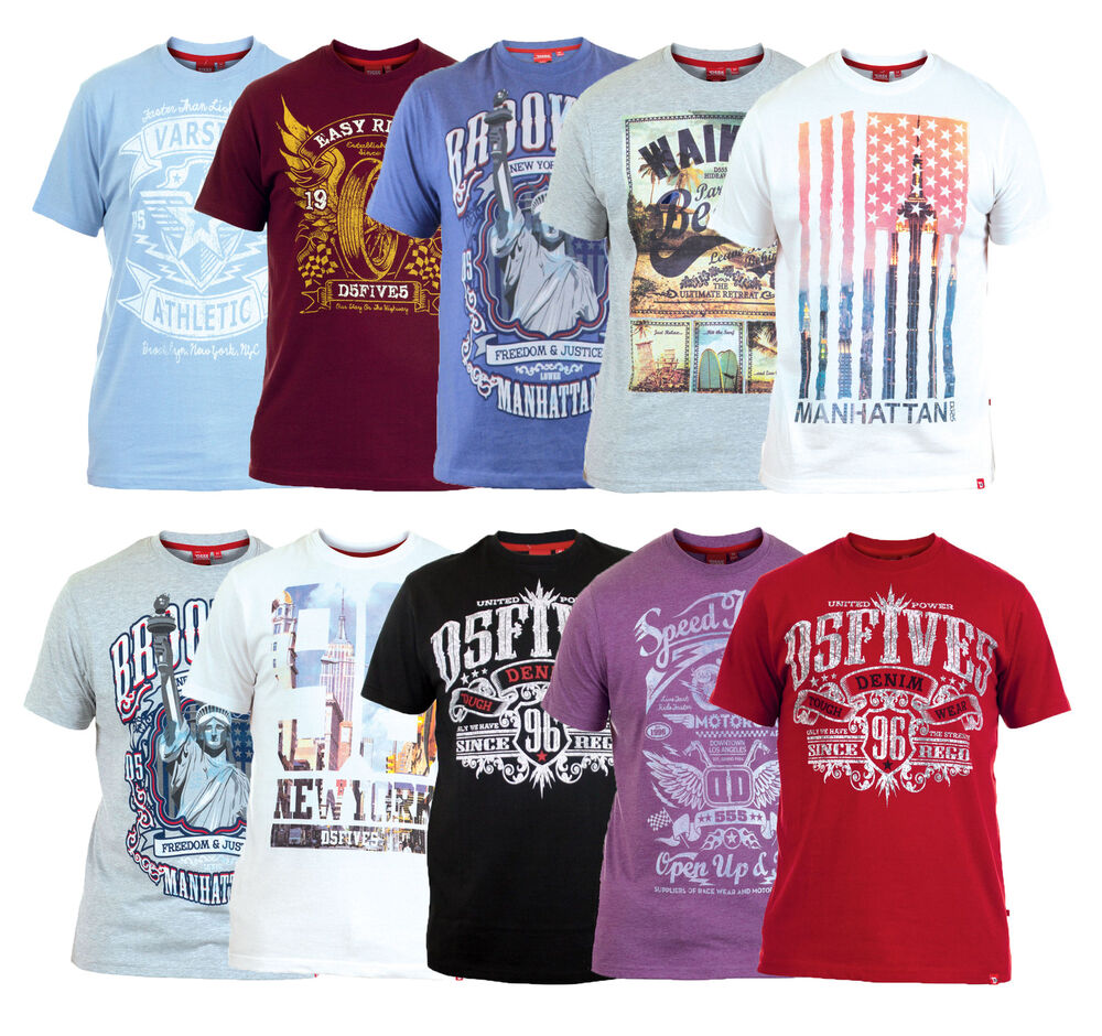 D555 new men s photo print cotton t shirt graphic printed for Graphic design t shirts uk