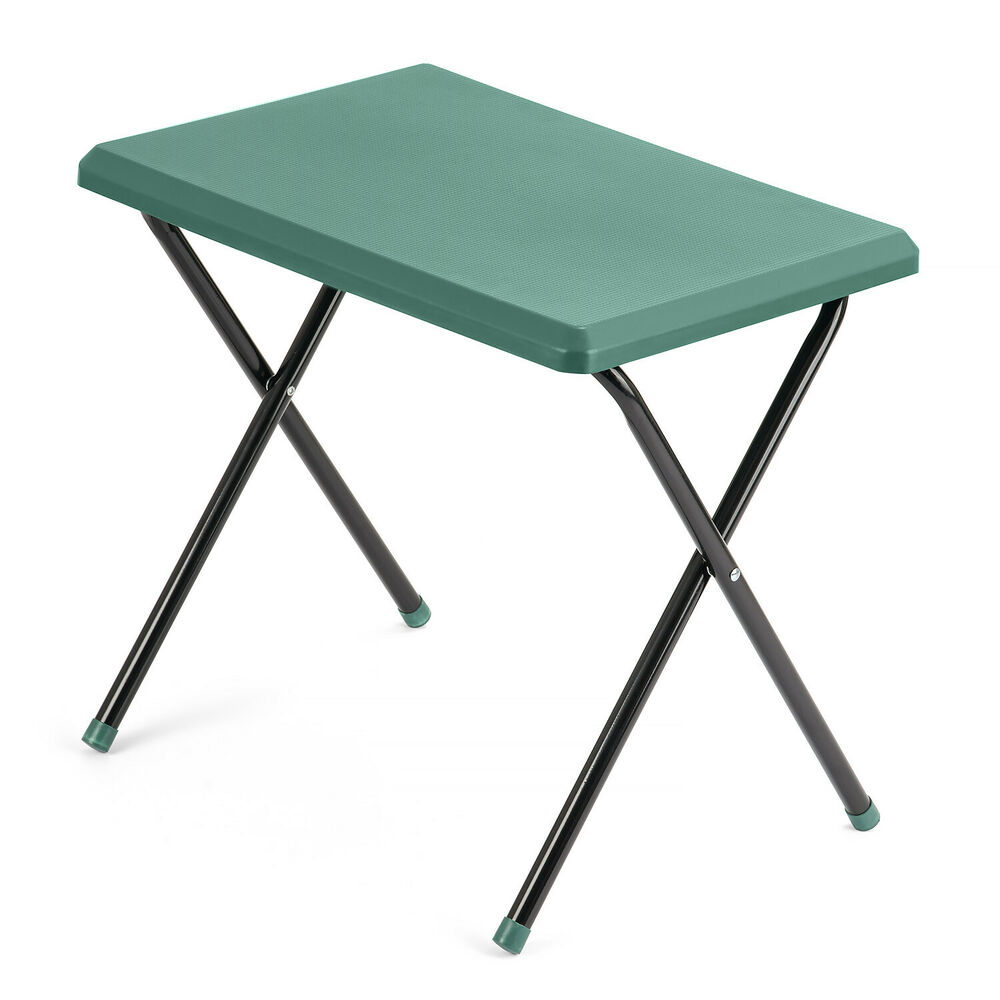 Trail lightweight compact folding camping picnic caravan multi purpose table ebay - Small lightweight folding table ...