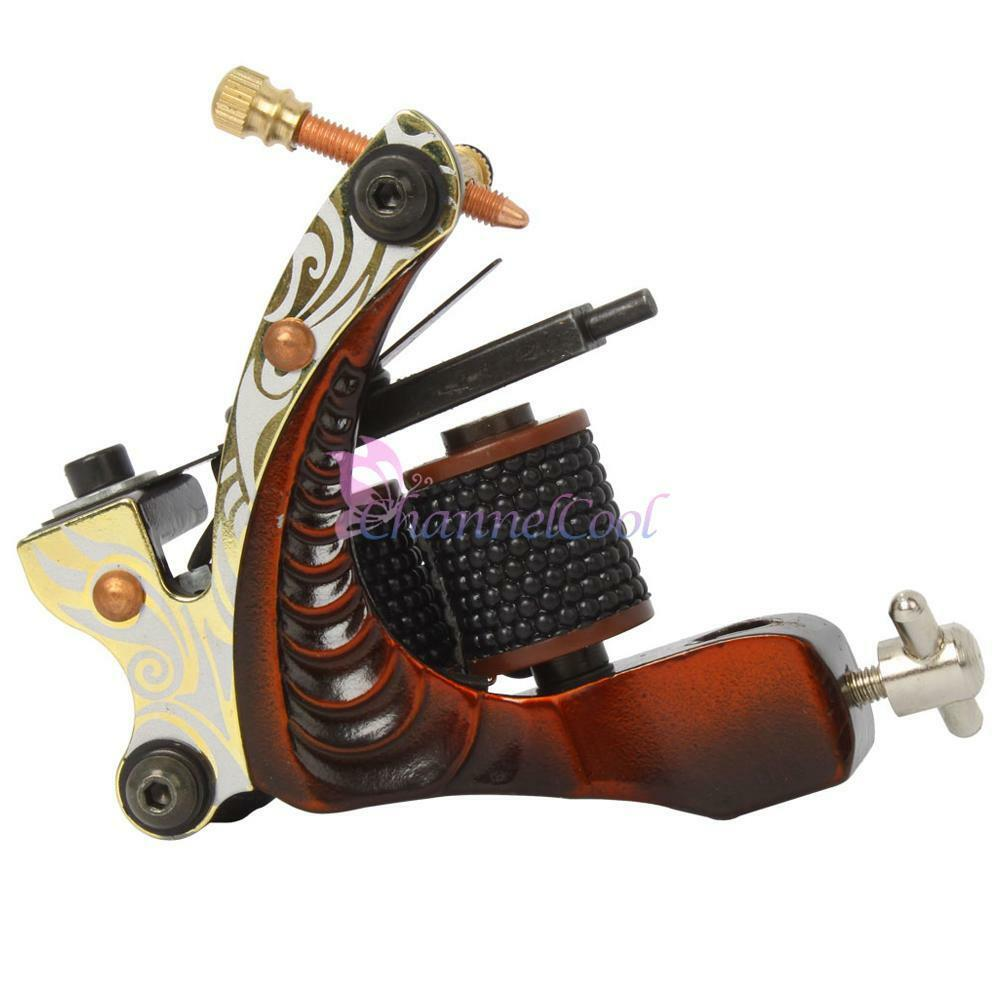 New Design Liner Tattoo Machine Gun 8 Wrap Coils Equipment ...